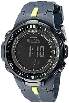 "buy Casio Men'S Prw-3000-2Cr ""Protrek"" Sport Watch With Black Resin Band"