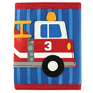 Stephen Joseph Fire Truck Wallet for Boys - Kids Wallets