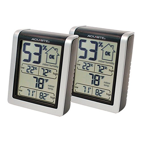 AcuRite Indoor Humidity Monitor (Pack of 2) (Humidity Sensors compare prices)