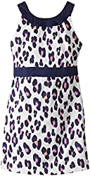 kc parker Big Girls' Stretch Sateen Dress
