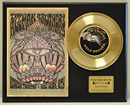 ALLMAN BROTHERS Limited Edition Gold 45 Record Display. Only 500 made. Limited quanities. FREE US SHIPPING