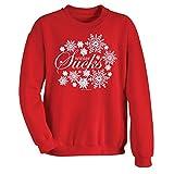 Women's Winter Sucks Red Sweatshirt