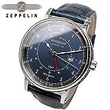 ツェッペリン ZEPPELIN ノルドスタン クオーツ メンズ 腕時計 7546-3 ネイビー [並行輸入品]