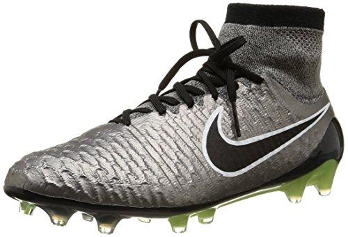 Nike Magista Obra Fg, Scarpe sportive, Uomo, Multicolore (Mtlc Pewter/Black-White-Black), 44