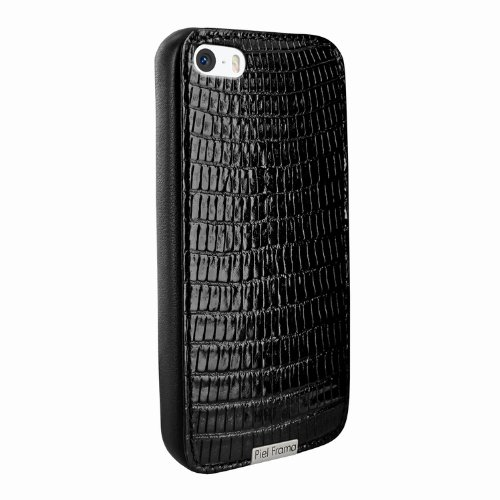 Best Price Apple iPhone 5 / 5S Piel Frama Black Lizard FramaGrip Leather Cover