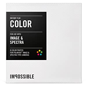 Impossible PRD2787 Color Film for Polaroid Spectra Cameras