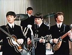 ブロマイド写真★ザ・ビートルズ The Beatles/4人/カラー/演奏する/ジョン・レノン、ポール・マッカートニー、ジョージ・ハリスン、リンゴ・スター