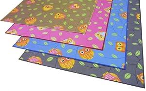 Eulen Kinder Teppich Kauz Teppich HAPPY OWLS, 300x200 cm, beige    Bewertungen und Beschreibung