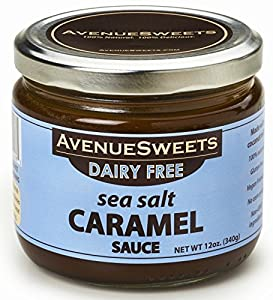 Avenuesweets 12oz Jar Dairy-free Vegan Classic Caramel Sauce by AvenueSweets