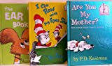 Are You My Mother? / I Can Read with My Eyes Shut / The Ear Book - 3 Book Set (I Can Read It Beginner Books) (0307724980) by P.D. Eastman