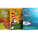 Are You My Mother? / I Can Read with My Eyes Shut / The Ear Book - 3 Book Set (I Can Read It Beginner Books) ~ P.D. Eastman