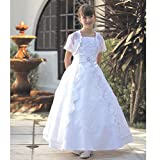 Angels Garment Girls Satin First Communion Dress 10