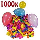 Belmalia 1000 x Wasserbomben Mega-Pack Luftballons bunt Wasser Bomben Luft