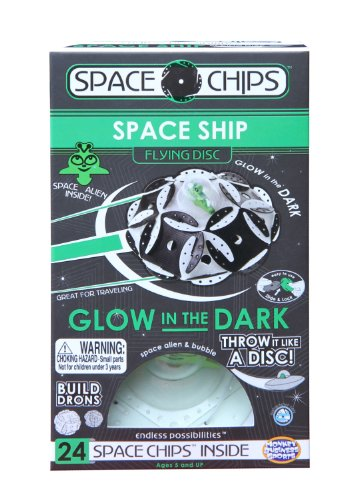 Monkey Business Sports Space Chips Space Ship Glow in The Dark
