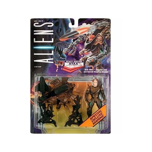 Aliens Atax Action Figure by Kenner (English Manual)