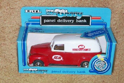 Ertl 1/34 Scale Die Cast IGA Hometown Proud 1931 Delivery Truck Bank