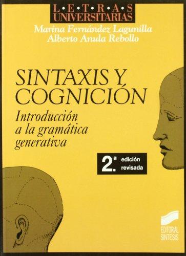 SINTAXIS Y COGNICION