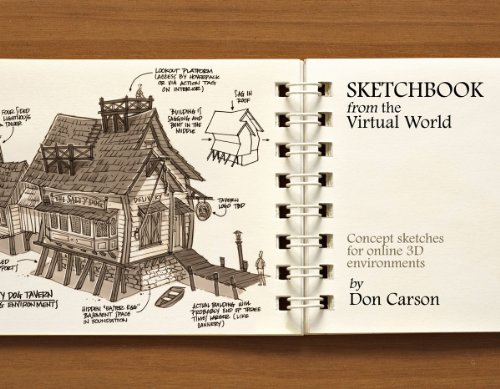 Sketchbook: Concepts From The Virtual World
