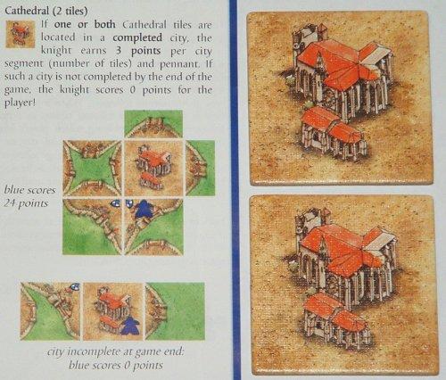 Imagen 2 de [Import Anglais]Carcassonne Expansion 1 Inns & Cathedrals