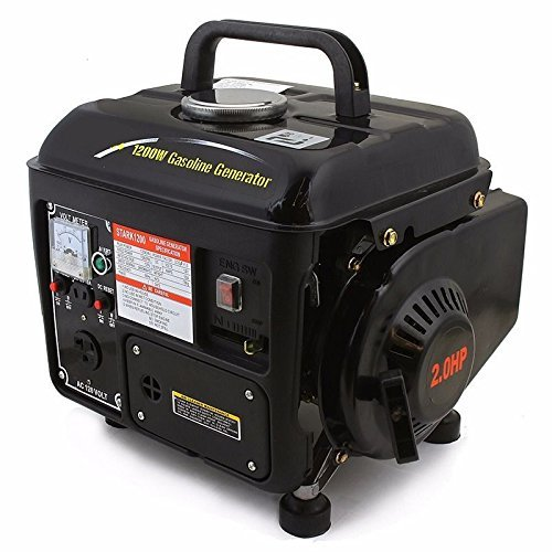 1200 Watt Portable Gasoline Electric Gas Generator Power 2 Stroke RV Camping EPA, Can be used for Homes, Camping, RV, Tailgating, Little and Powerful (Portable Generator Shelter compare prices)