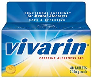 Vivarin 200 mg Tablets, 40-Count