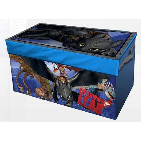 How to Train Your Dragon 2 Oversized Soft Collapsible Storage Toy Trunk