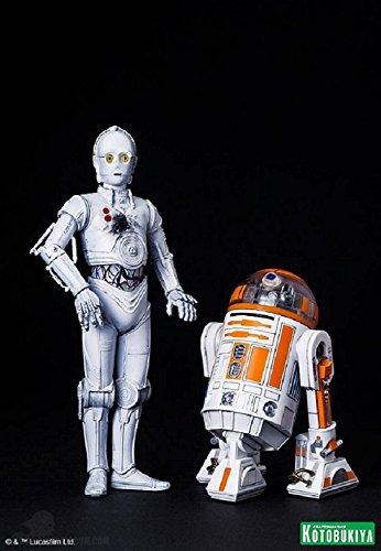 Star-Wars-Celebration-Anaheim-2015-Kotobukiya-1:10-Scale-R3-A2-with-K-3PO-with-Coin