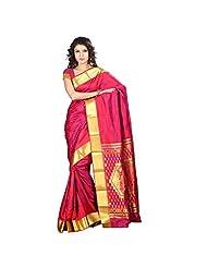 Varkala Silk Sarees Silk Saree (Jp7105Rdv _Red)