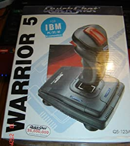 QuickShot Warrior 5 QS-123A Deluxe Analog Joystick