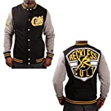 51iKGG5TiUL. SL160  Young and Reckless Cult Mens Varsity Baseball Jacket Coat