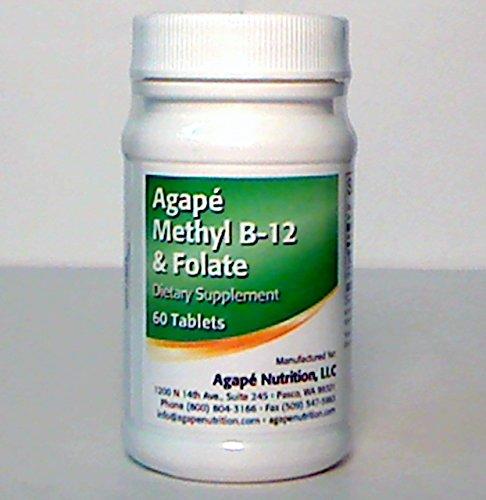 Agape Methyl B-12 & Folate