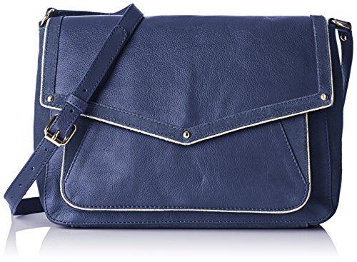 Petite Mendigote Mamba, Borsa a spalla donna , Blu (Bleu (Eclipse)), Taille Unique