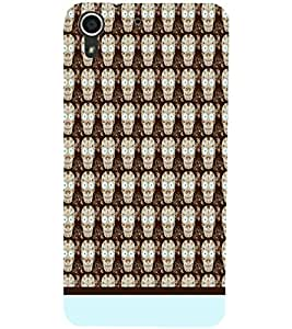 HTC DESIRE 728 PATTERN Designer Back Cover Case By PRINTSWAG