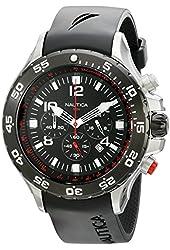 Nautica Men's N17526G NST Stainless Steel Watch