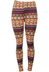Women Comfortable Multi Color Winter Print Leggings