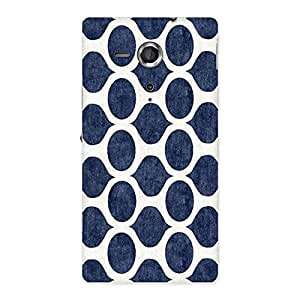 Cute Old Cage Print Back Case Cover for Sony Xperia SP