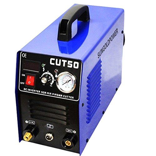 SUNGOLDPOWER-CUT50-Digital-Display-Protable-With-Accessories-Welding-Machine-Air-Plasma-Cutter-Inverter-50Amp-110V