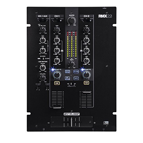 Reloop RMX-22I 2+1 Digital FX Mixer With iPad Split Connection (Dj 2 Mixer For Ipad compare prices)