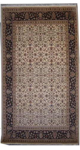 8'11 x 12'5 Double Knot Pak Persian Mahal Design Area Rug with Wool Pile - | Category 9x12 Rug | Handmade Pak Persian High Quality Rugs