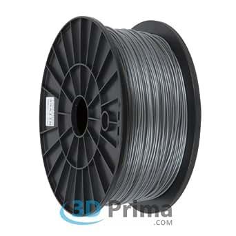 3D-Printer Filament PLA - 1,75mm - 1 kg spool - Silver