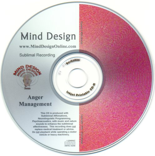 Anger Management Subliminal CD with Neurolinguistic Programming embedded in soothing sounds of ocean waves and music