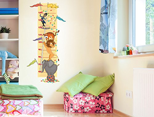 i love wandtattoo m 13 005 kinderzimmer messlatte zirkus zum kleben beschriften und selbst. Black Bedroom Furniture Sets. Home Design Ideas