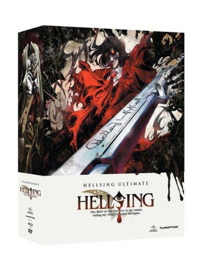 ヘルシング Volume 5-8 Blu-ray + DVD 限定版 (北米版)