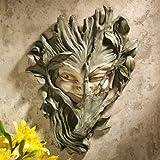 Design Toscano CL5369 Bashful Wood Sprite Wall Sculpture