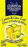 London Fruit & Herb Company Tea, Lemon & Lime Zest, 20 Count