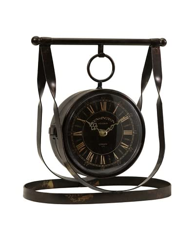 Harness Double-Sided Table Clock