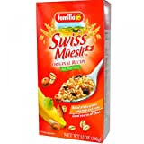 Swiss Muesli, Rolled Whole Grains with Fruit and Nuts, Original Recipe, 12 oz (340 g)