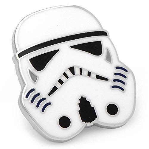 star-wars-mens-enamel-silver-plated-lapel-pin-storm-trooper-silver-white-by-lucas-films