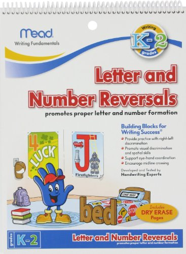 Mead Letter And Number Reversals, Grades K-2 (48062) front-396176