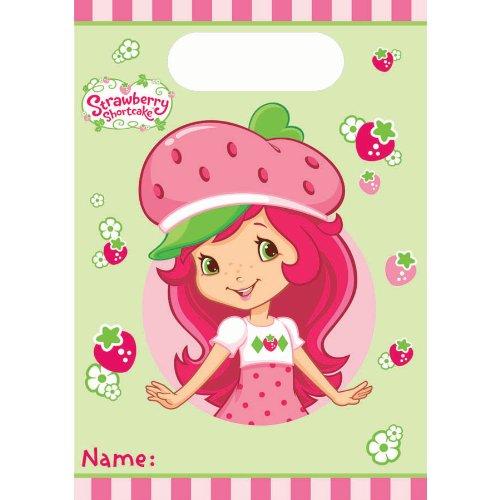 Imagen de 8 Conde Strawberry Shortcake cumpleaños Party Bags regalos